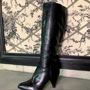MICHAEL KORS Leather Boots, 5.5